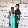 """Tiffany Persons, Julie Brangstrup - Soirée """"Chopard Cash & Rocket"""" lors du 68ème festival international du film de Cannes. Le 19 mai 2015"""