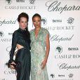 """Julie Brangstrup , Selita Ebanks - Soirée """"Chopard Cash & Rocket"""" lors du 68ème festival international du film de Cannes. Le 19 mai 2015"""