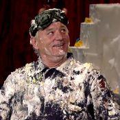 Bill Murray dans un gâteau : Sa surprise qui tâche pour la dernière de Letterman