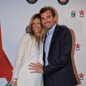 Julien Benneteau : Le tennisman aux anges avec sa compagne enceinte