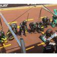 Gigi Hadid a posté des photos en soutien à Lewis Hamilton lors du Grand Prix de Formule 1 à Monaco le 24 mai 2015. De quoi accentuer les rumeurs