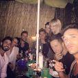 """""""Rayane Bensetti et Denitsa Ikonomova : complices lors d'une soirée sushis en terrasse avec leurs amis de DALS"""""""