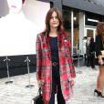 Yasmin Le Bon lors de la fashion week à Londres, le 20 février 2015.