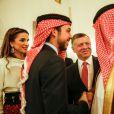 La reine Rania de Jordanie célébrait le 25 mai 2015 à Amman la Fête nationale jordanienne avec son mari le roi Abdullah II, leur fils le prince héritier Hussein, 20 ans, et leur fille la princesse Salma, 14 ans.