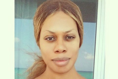 Laverne Cox au naturel : La star d'Orange is the New Black éblouit