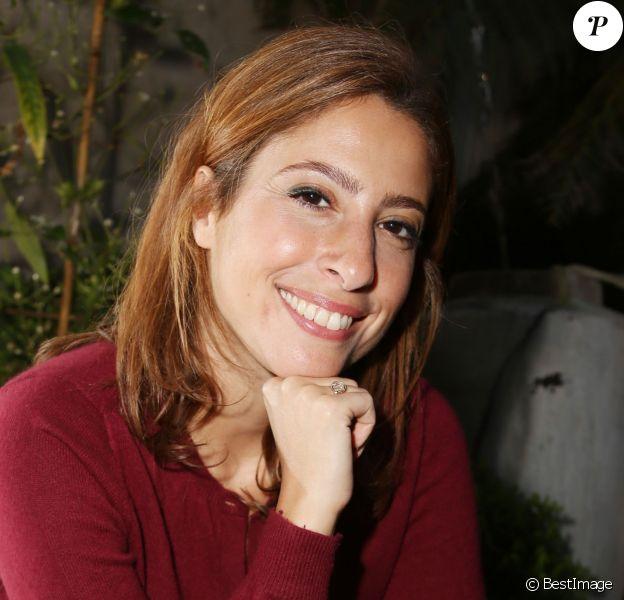 Exclusif - Léa Salamé lors de la 34 ème édition des prix Patrick Dewaere et Romy Schneider à Paris le 13 avril 2015.