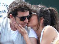 Patrick Bruel et Caroline in love devant Marie Drucker amoureuse à Roland-Garros