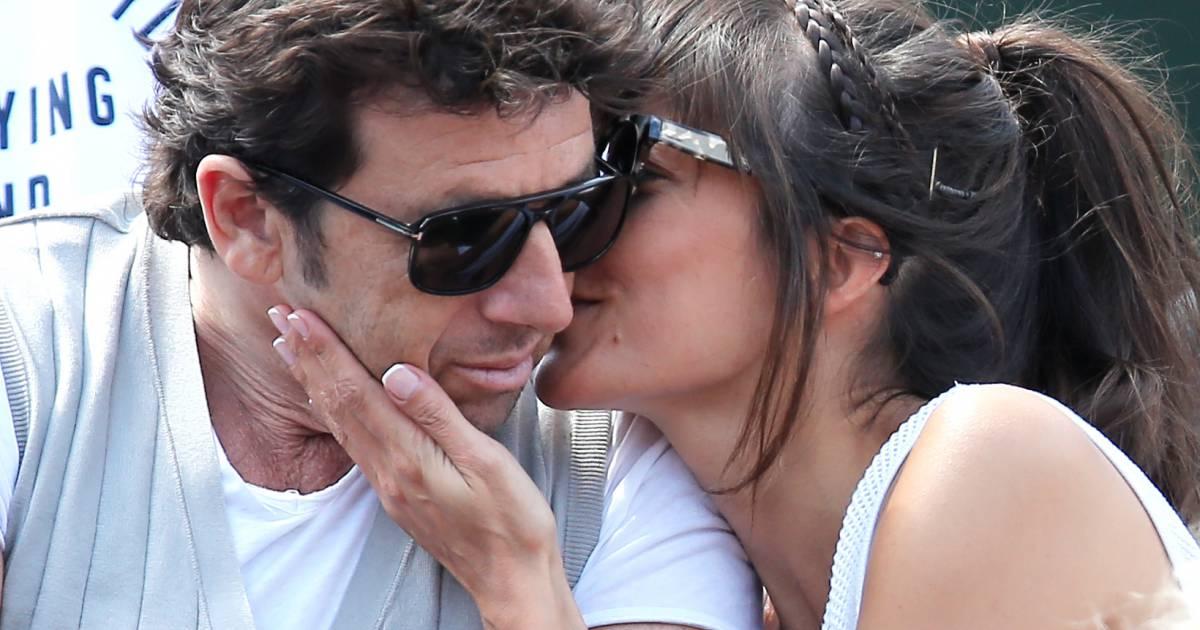 Patrick bruel et caroline in love devant marie drucker amoureuse roland garros purepeople - Stephane marie et sa compagne ...