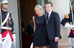 Emmanuel Macron et son épouse, un couple rare, devant Letizia d'Espagne