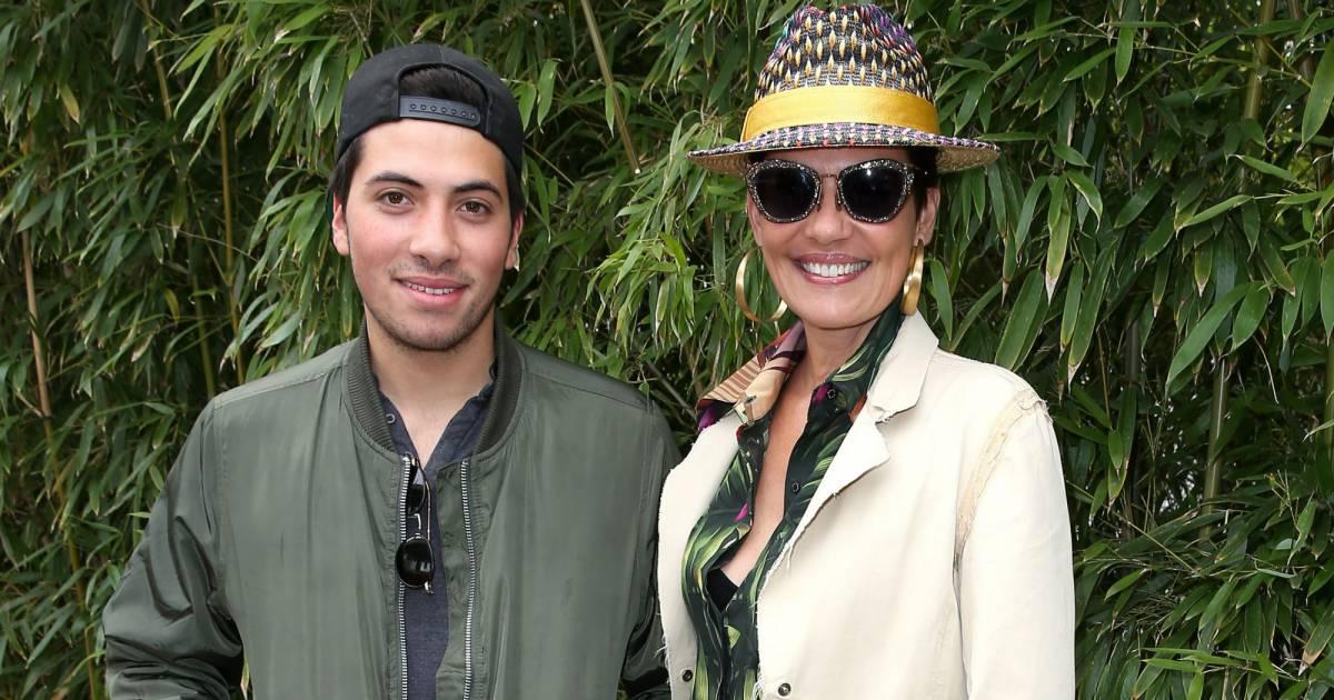 regard détaillé 07a20 24a7d Cristina Cordula présente son fils Enzo : Un beau gosse à ...