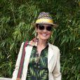 La ravissante Cristina Cordula - Jour 11 - People dans le village lors du tournoi de tennis de Roland Garros à Paris le 3 juin 2015.