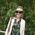 Cristina Cordula - Jour 11 - People dans le village lors du tournoi de tennis de Roland Garros à Paris le 3 juin 2015.