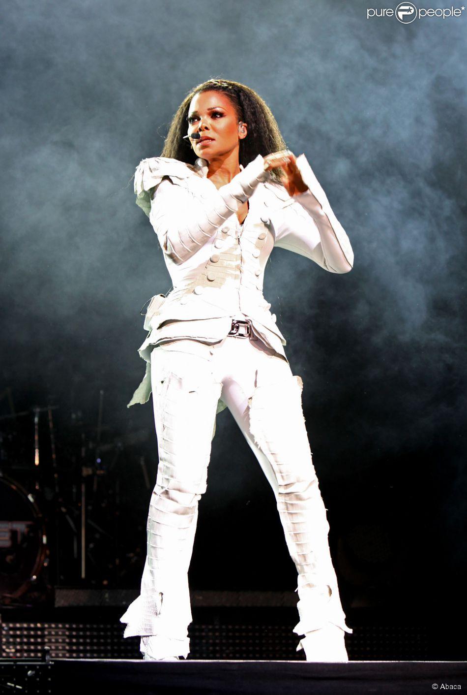 Janet Jackson en concert à l'Olympia de Paris, le 26 juin 2011