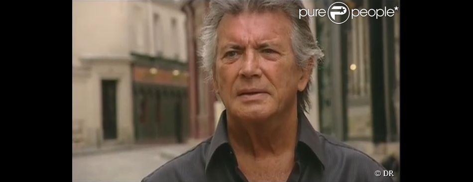 Pierre Brice dans le documentaire d'Arte, L'illustre inconnu du cinéma français. (capture d'écran)