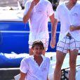 """Pierre Casiraghi participe à """"Sail for a Cause"""", une journée caritative co-organisée par Leticia de Massy et le réseau féminin LeSpot.net au Yacht Club de Monaco le samedi 6 juin 2015."""