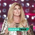 Shania Twain, blonde, en interview pour Entertainment Tonight, juin 2015.