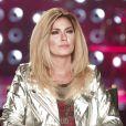 La belle Shania Twain, blonde, en interview pour Entertainment Tonight, juin 2015.