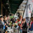 """Exclusif - Lancement de l'opération """"Les Petits Déjeuners du Coeur"""" au Café de la Paix à Paris le 8 juin 2015 en faveur de l'association Mécénat Chirurgie Cardiaque. Jusqu'au 19 juin."""