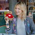 """Exclusif - Pauline Lefèvre - Lancement de l'opération """"Les Petits Déjeuners du Coeur"""" au Café de la Paix à Paris le 8 juin 2015 en faveur de l'association Mécénat Chirurgie Cardiaque. Jusqu'au 19 juin."""