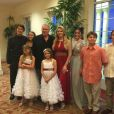 Jackie Siegel a posté une photo de famille sur Instagram, le 10 mai 2015