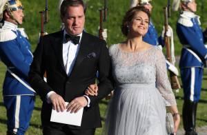 Princesse Madeleine: Enceinte et radieuse pour le hors-d'oeuvre du mariage royal