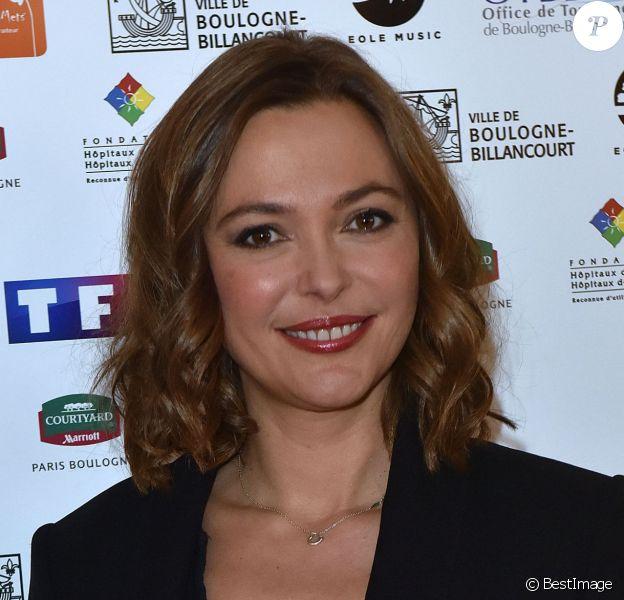 Sandrine Quétier, à Boulogne-Billancourt le 11 février 2015.