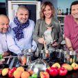 Gilles Goujon, Christian Etchebest, Sandrine Quétier et Yannick Delpech, de retour le 25 juin à 20h55 sur TF1 pour  Masterchef  saison 5.