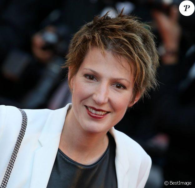 """Natacha Polony - Montée des marches du film """"The Little Prince"""" (Le Petit Prince) lors du 68e Festival International du Film de Cannes, à Cannes le 22 mai 2015."""