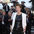 """Natacha Polony - Montée des marches du film """"The Little Prince"""" (Le Petit Prince) lors du 68e Festival International du Film de Cannes, le 22 mai 2015."""