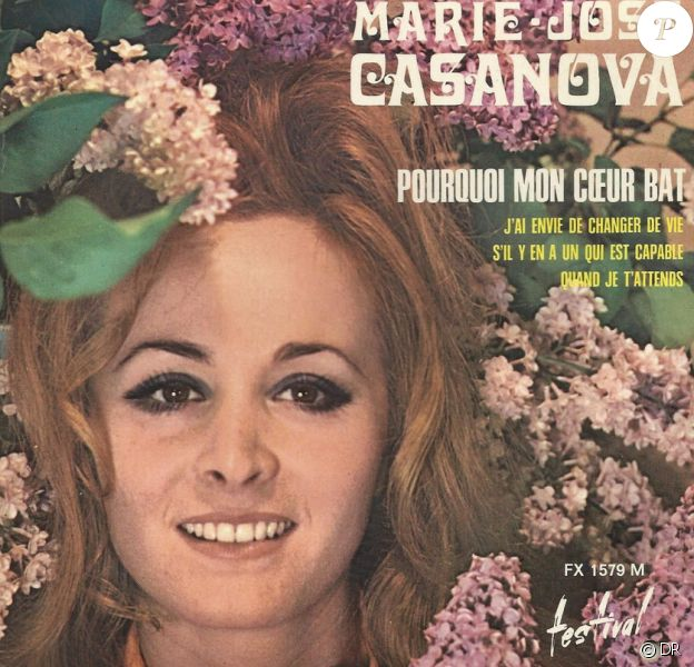 """Marie-José Casanova, """"Pourquoi mon coeur bat""""."""