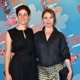 """Chloé Mazlo et Anne Marivin - Dîner de gala """"Les Nuits en Or - Panorama"""" à l' UNESCO à Paris, le 15 juin 2015"""