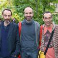 Exclusif - Eric Tosti, David Alaux et Jean-François Tosti (prix animation) - Fête des prix SACD 2015 à la SACD (la Société des auteurs et compositeurs dramatiques) à Paris, le 15 juin 2015.