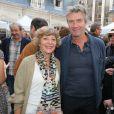 Exclusif - Sophie Deschamps (présidente de la SACD), Philippe Caroit - Fête des prix SACD 2015 à la SACD (la Société des auteurs et compositeurs dramatiques) à Paris, le 15 juin 2015.