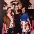 """Chloé Coulloud, Marie-Ange Casta et Amelle Chahbi - Avant-première du film """"Amy"""" au cinéma Max Linder à Paris, le 16 juin 2015."""