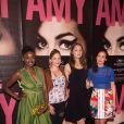 """Prudence Maidou, Chloé Coulloud, Marie-Ange Casta et Amelle Chahbi - Avant-première du film """"Amy"""" au cinéma Max Linder à Paris, le 16 juin 2015. """""""