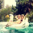 Taylor Swift et Calvin Harris, sur Instagram le 11 juin 2015