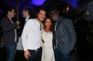 Laury Thilleman : Tout sourire devant Amir, l'ancien beau gosse de The Voice