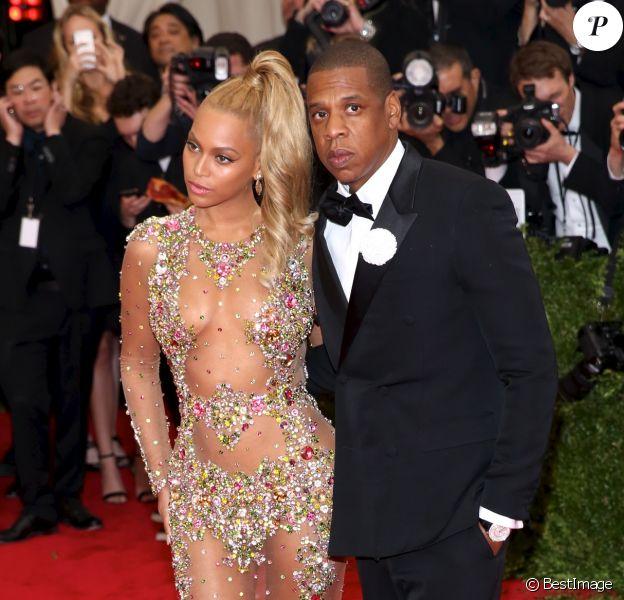 Beyoncé et Jay Z au Met Gala 2015 à New York. Le 4 mai 2015.