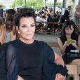 Kris Jenner - People au défilé de mode masculine Givenchy PAP Printemps / été 2016 à la Halle aux Chevaux à Paris le 26 juin 2015.