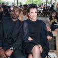Kris Jenner et Corey Gamble - People au défilé de mode masculine Givenchy PAP Printemps / été 2016 à la Halle aux Chevaux à Paris le 26 juin 2015.