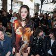Sky Ferreira - People au défilé de mode masculine Givenchy PAP Printemps / été 2016 à la Halle aux Chevaux à Paris le 26 juin 2015.