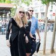Courtney Love - People au défilé de mode masculine Givenchy PAP Printemps / été 2016 à la Halle aux Chevaux à Paris le 26 juin 2015.