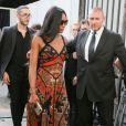 Naomi Campbell - People au défilé de mode masculine Givenchy PAP Printemps / été 2016 à la Halle aux Chevaux à Paris le 26 juin 2015.