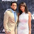 Michael Ealy et Sanaa Lathan lors des BET Awards 2015 au Microsoft Theater. Los Angeles, le 28 juin 2015.