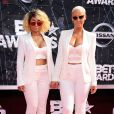 Blac Chyna et Amber Rose lors des BET Awards 2015 au Microsoft Theater. Los Angeles, le 28 juin 2015.