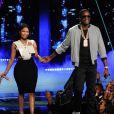 Nicki Minaj et Meek Mill lors des BET Awards 2015 au Microsoft Theater. Los Angeles, le 28 juin 2015.