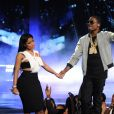 Nicki Minaj et Meek Mill lors des BET Awards 2015 au Microsoft Theater. Los Angeles, le 28 juin 2015.