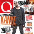 Kanye West en couverture du nouveau numéro du magazine Q.