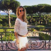 Sandrine Corman enceinte et radieuse : Elle révèle le sexe de son futur bébé !