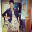 Tamera Mowry enceinte sur Instagram - Juin 2015